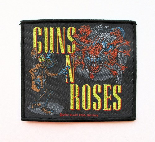 GUNS N ROSES - Attack --- patch.JPG