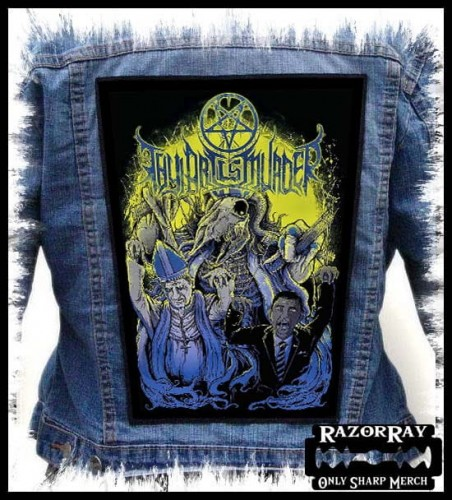 THY ART IS MURDER - Run! -- Backpatch Back Patch.jpg