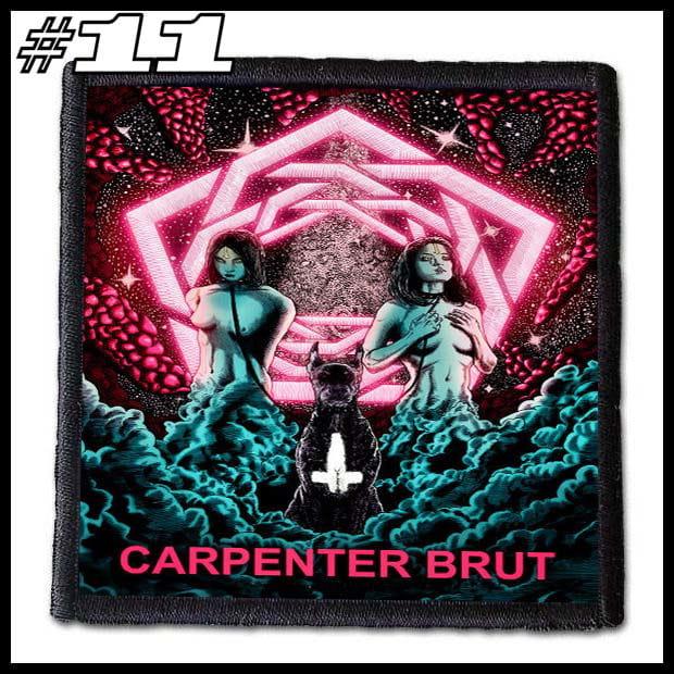 CARPENTER BRUT -- Patch