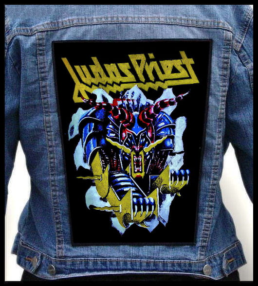JUDAS PRIEST - Defenders Of The Faith -- Backpatch