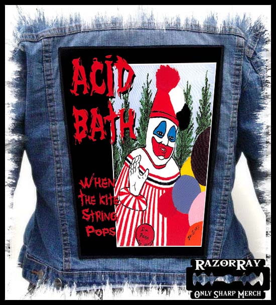 Acid Bath When The Kite String Pops Backpatch