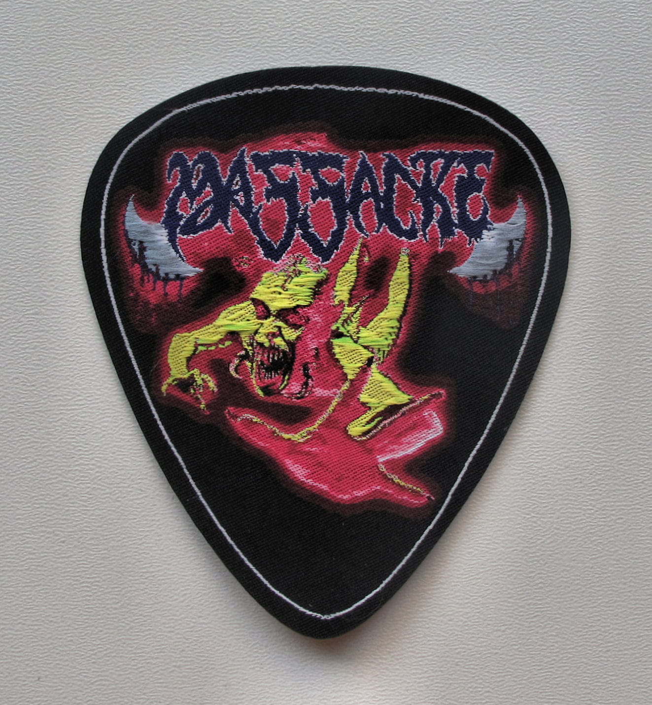 Kreator Cut-Out Logo Woven Patch