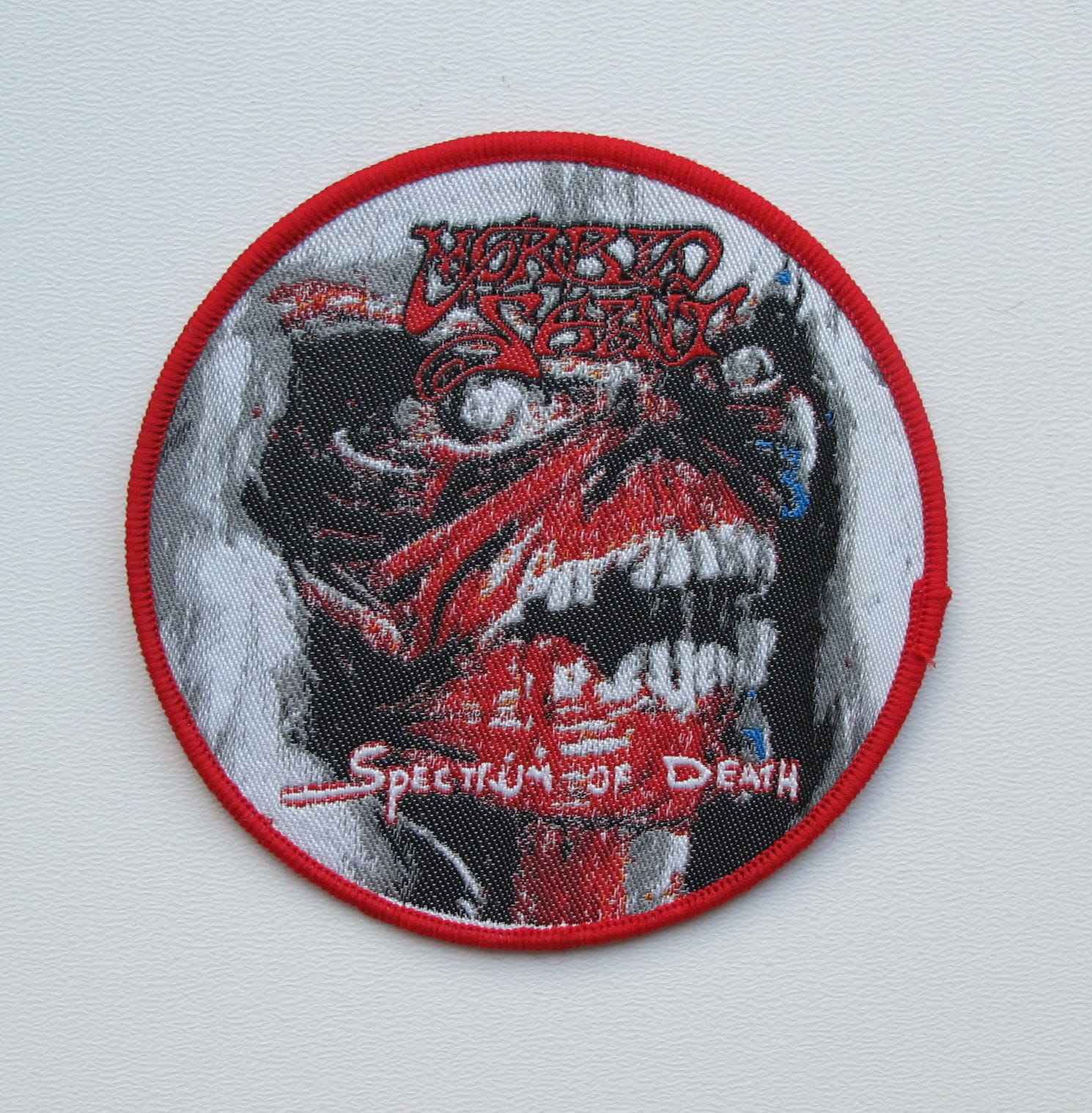 ABSCESS Patch Embroidered Iron//Sew on Death Metal